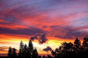 Hawaii, Big Island, Sunset